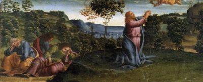 Luca Signorelli Modlitwa w Ogrójcu