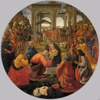 Domenico Ghirlandaio Pokłon trzech Mędrców