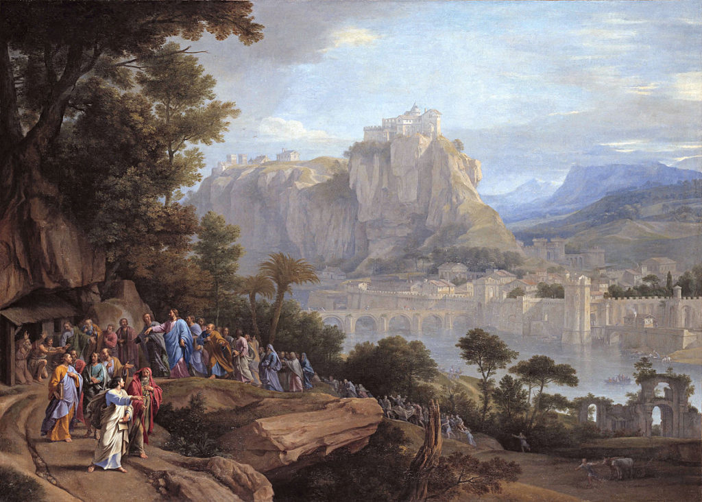 Philippe de Champaigne Chrystus uzdrawia ślepego
