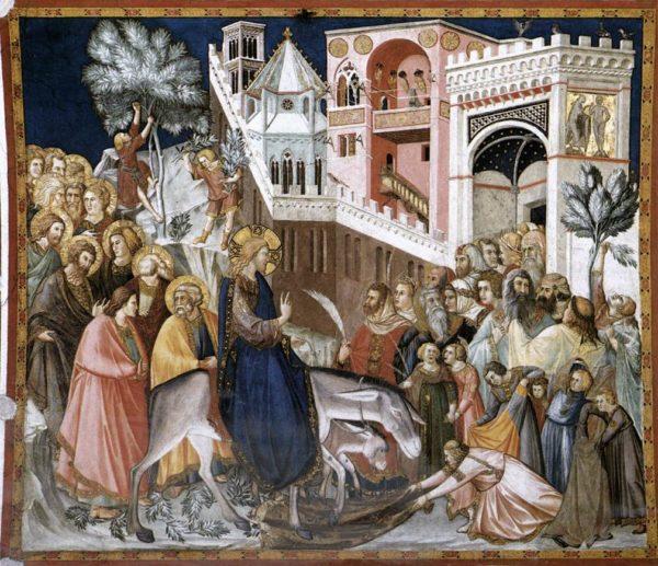 Pietro Lorenzetti Wjazd Chrystusa do Jerozolimy