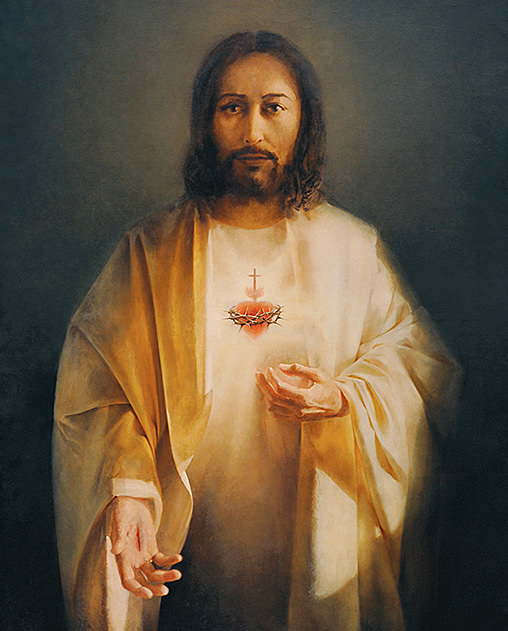Maria Samborska Serce Jezusa
