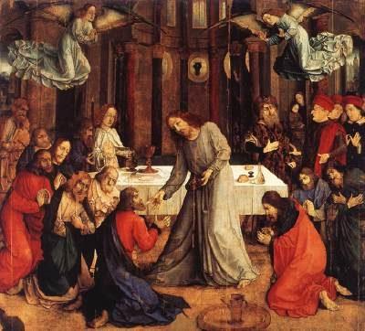 Joos van Wassenhove Ustanowienie Eucharystii