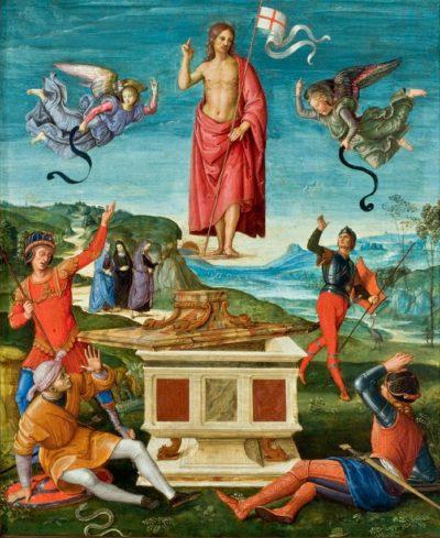 Rafael Santi Zmartwychwstanie Chrystusa