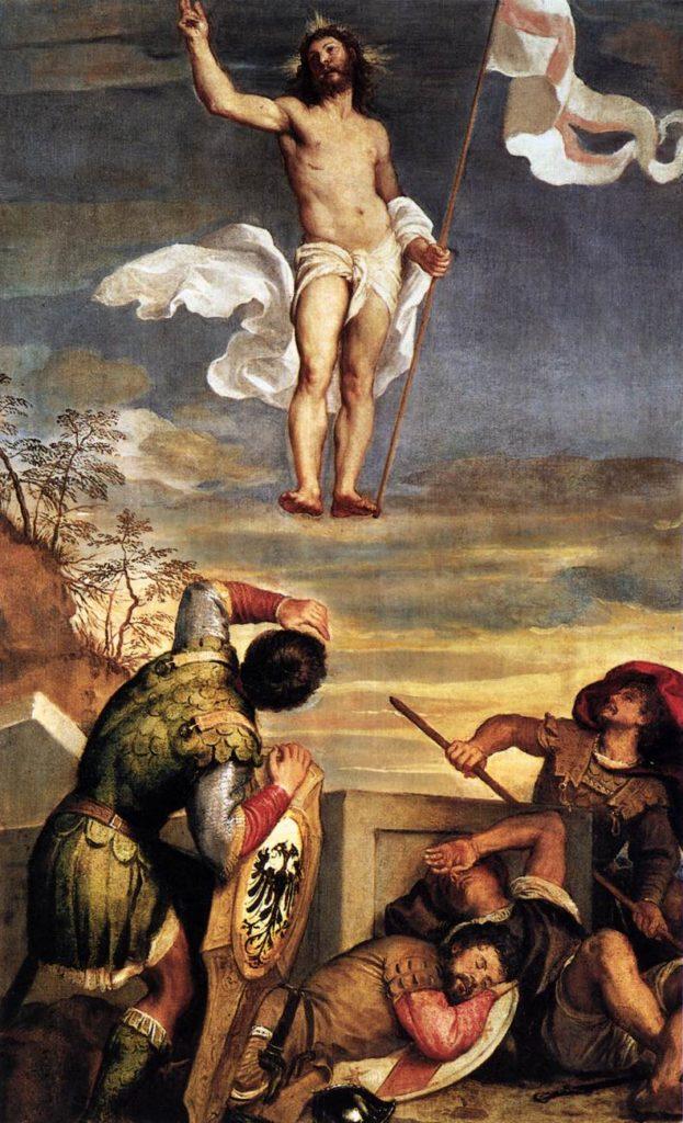 Tycjan Zmartwychwstanie