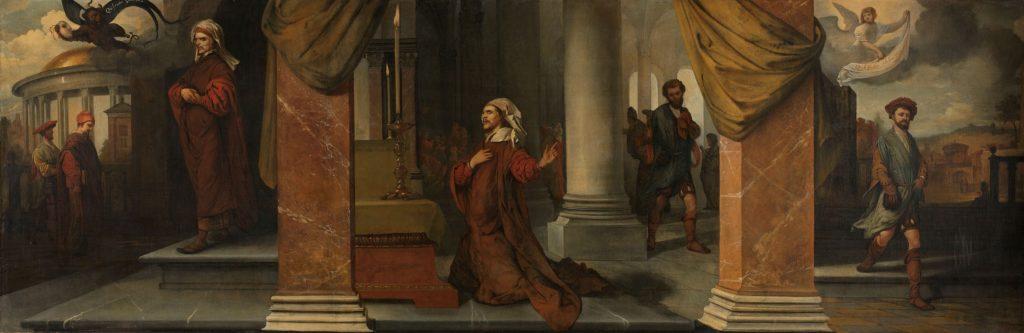 Barent Fabritius Faryzeusz i celnik