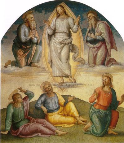 Pietro Perugino Przemienienie