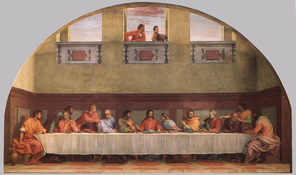 Andrea del Sarto Ostatnia Wieczerza