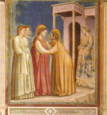 Giotto di Bondone Nawiedzenie